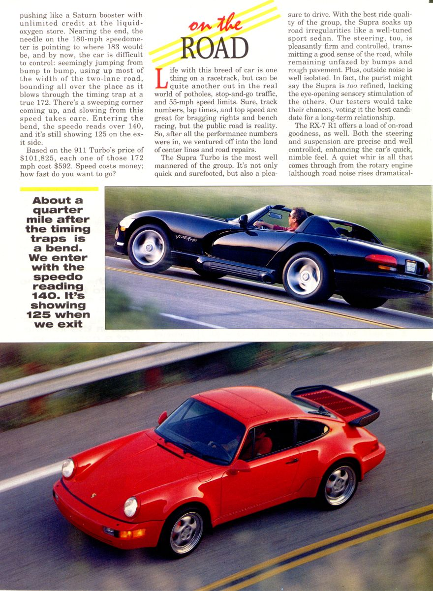 Motor trend top gun august 1993 Motor tread
