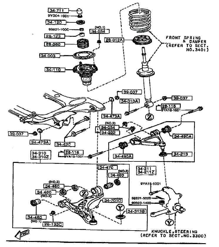 chevy front suspension diagram